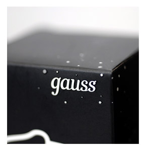 gauss energy saving lamps package
